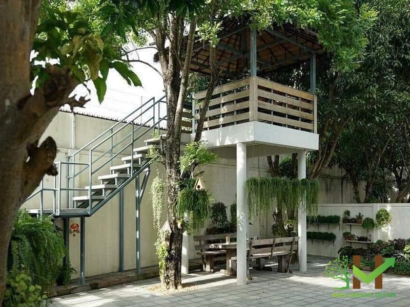 Mẫu thiết kế sân vườn nhà cấp 4 đẹp không thể cưỡng lại - ảnh 20