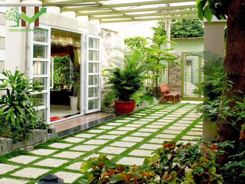 sân vườn đẹp hiện đại 3