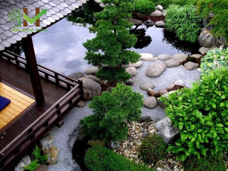 Thiết kế - thi công Sân vườn Nhật Bản 1