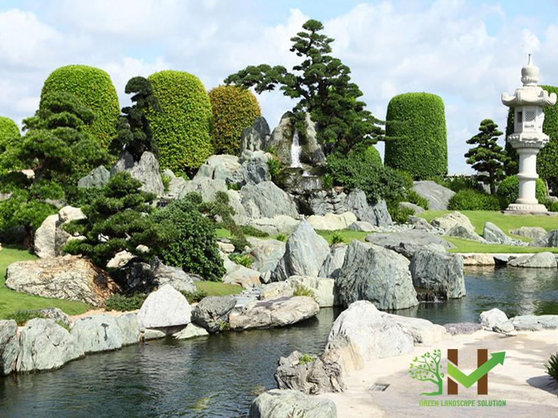 Thiết kế - thi công Sân vườn Nhật Bản 2